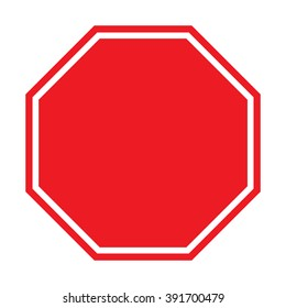 Blank Stop Sign Images, Stock Photos & Vectors | Shutterstock