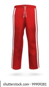 Blank sweatpants design.