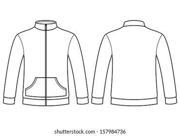 jacket template images stock photos vectors shutterstock