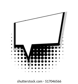 white blank square template comics book stock vector royalty free