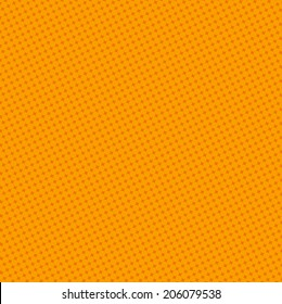 Blank Text - Orange dot for comic on yellow background vector