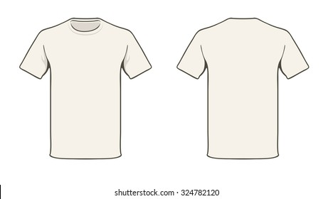 T Shirt Template Images Stock Photos Amp Vectors Shutterstock