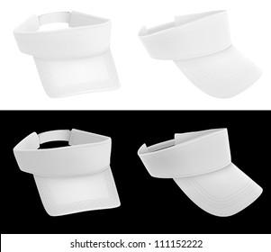 Blank visor template