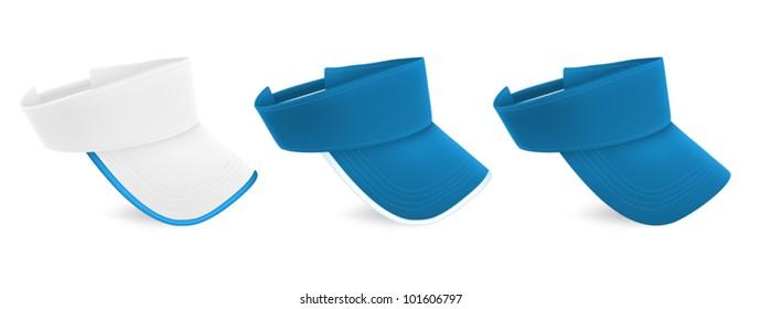 Blank visor template set. 2cc3d134a76