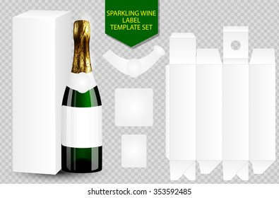Champagne Label Images Stock Photos Vectors Shutterstock - Champagne label template