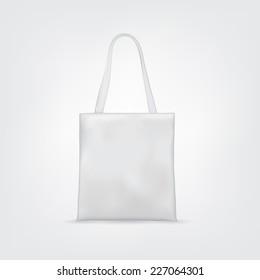 Blank White Tote Bag