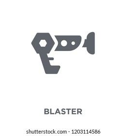 Blaster icon. Blaster design concept from  collection. Simple element vector illustration on white background.