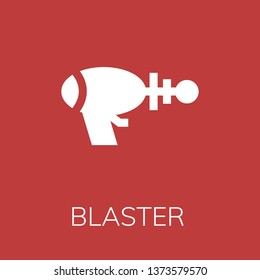 Blaster icon. Editable  Blaster icon for web or mobile.