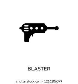 Blaster icon. Blaster symbol design from Science collection. Simple element vector illustration on white background.