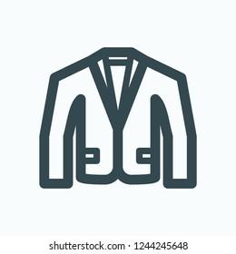 Blazer icon, men's cotton casual blazer