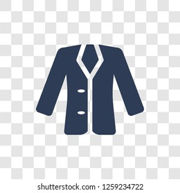 Blazer icon. Trendy Blazer logo concept on transparent background from Clothes collection