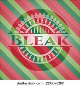 Bleak christmas style badge..