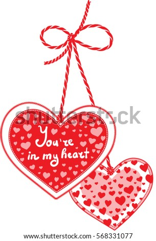 Bleeding Heart Arrow Valentines Day Love Stock Vector Royalty Free