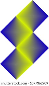 Blended Color Triangul Pattern