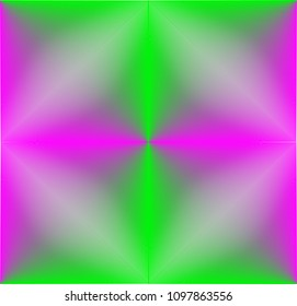 Blended Colors Geometric Pattern