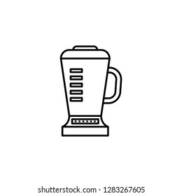 blender, electric juicer icon. Element of kitchen utensils icon for mobile concept and web apps. Detailed blender, electric juicer icon can be used for web and mobile