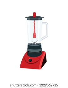Blender Kitchen Appliance Vector Illustration