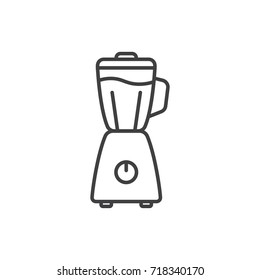 Blender line icon.