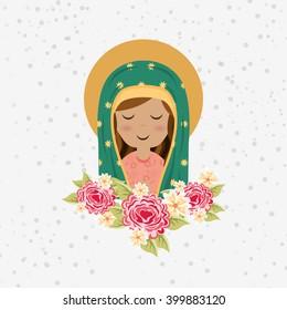 Blessed virgin design