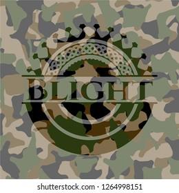 Blight on camo texture
