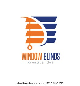 blind logo design