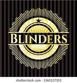 Blinders golden emblem