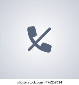 Block call vector icon