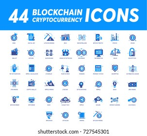 Block chain Icons