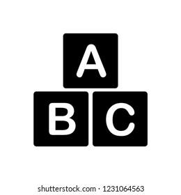 block ,cube education icon