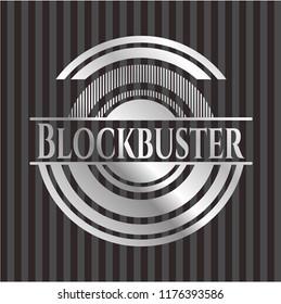 Blockbuster silvery badge