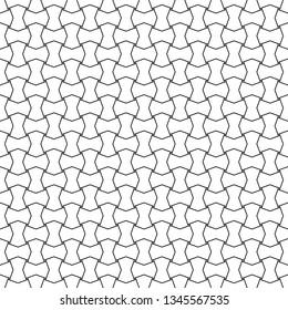 Blocks background.Geometric ornament. Polygons backdrop. Quadrangles, octagons wallpaper. Mosaic motif. Digital paper, textile print, web designing, abstract. Seamless surface pattern design. Vector.