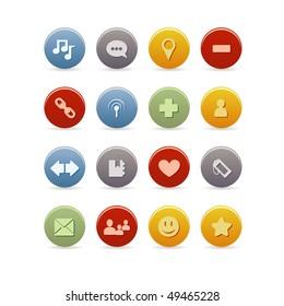 Blog icon set