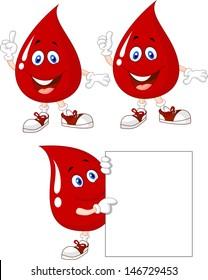 Blood cartoon