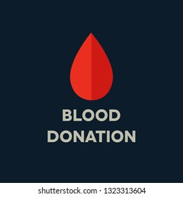 blood donation logo icon