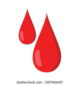 blood drop flat vector design. good for medical help logo