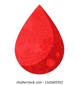 blood drop graphic vector illustration icon