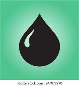 Blood drop icon.