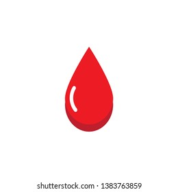 blood icon design template vector
