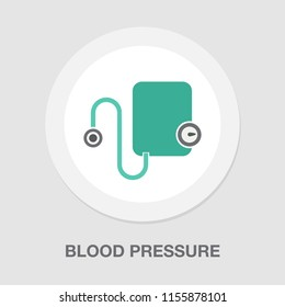blood pressure measuring icon, medical care icon