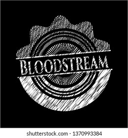 Bloodstream chalk emblem