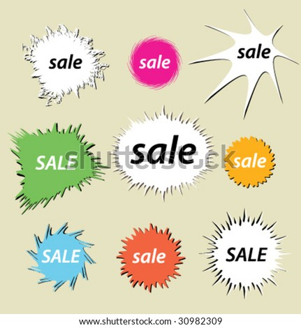 blot sale ticket you artwork vector stock vector royalty free
