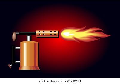 Blow Torch Images, Stock Photos & Vectors | Shutterstock