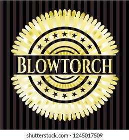 Blowtorch golden badge