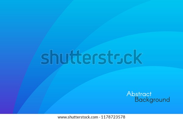 Blue Abstract Background Simple Lines Soft Stock Vector