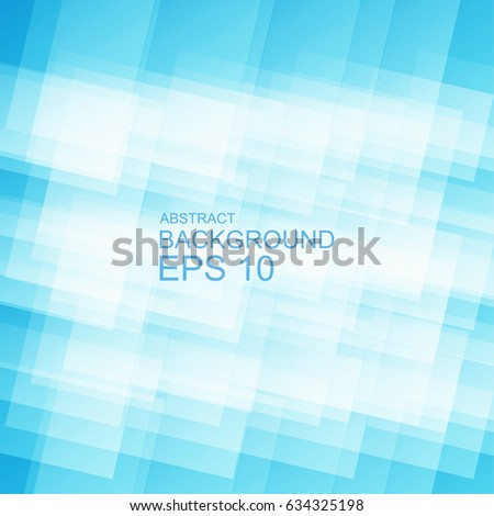 Blue Abstract Background Template Business Design Image Vectorielle