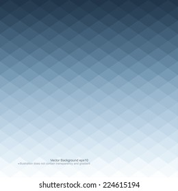 Blue abstract background. Vector illustration does not contain gradients and transparency