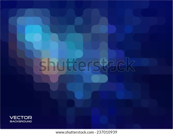 Blue Abstract Background Vector Illustration Stock