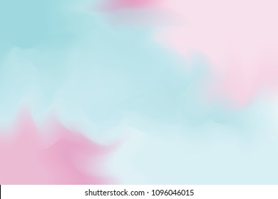 blue abstract colorful bright color paint brush art background, multi colorful painting art acrylic water color wallpaper pastel, gradient color art  brush mixed, pastel soft oil color paint vector