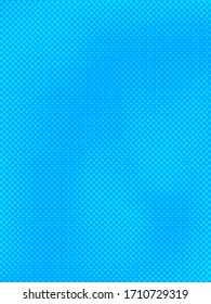 Blue abstract comic style background with light halftone effects. Vector illustration