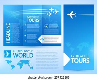 travel brochures template
